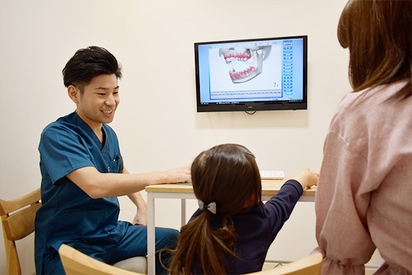 町屋メディウム歯科 カウンセリングスペース